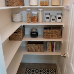 36+ DIY Farmhouse Pantry Shelves #farmhousedecor #farmhouseideas #diyfarmhouse ~...