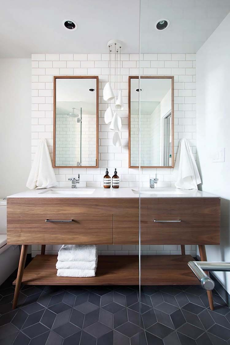 37 Amazing mid-century modern bathrooms to soak your senses – pickndecor/home