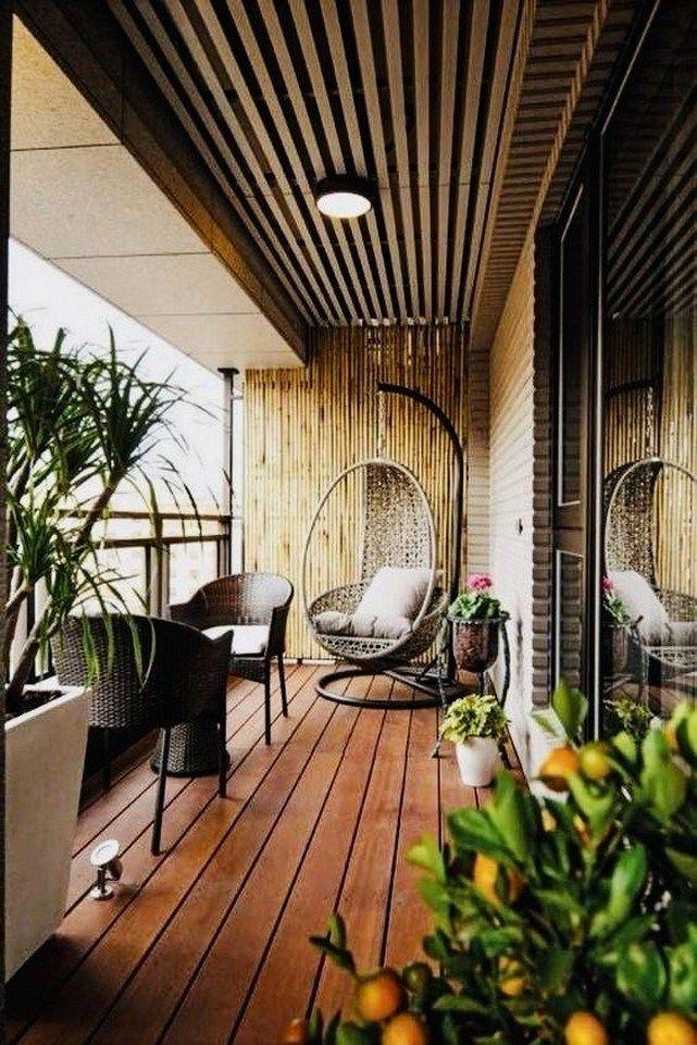 37 Fabulous Small Apartment Balcony Decor Ideas #apartmentdecorating #smallapart…
