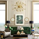 38 GREEN VELVET SOFA DESIGN IDEAS TO MAKEOVER YOUR LIVING ROOM - Page 24 of 38 -...