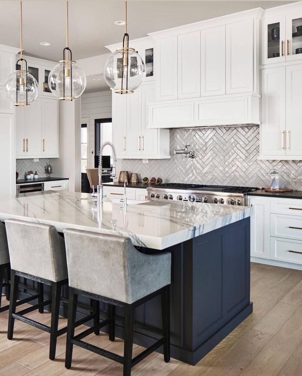 39 Adorable White Kitchen Design Ideas – HOOMDSGN