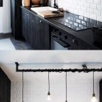 39+ Inspiring Small Space Kitchen Lighting - Mylittlethink.com