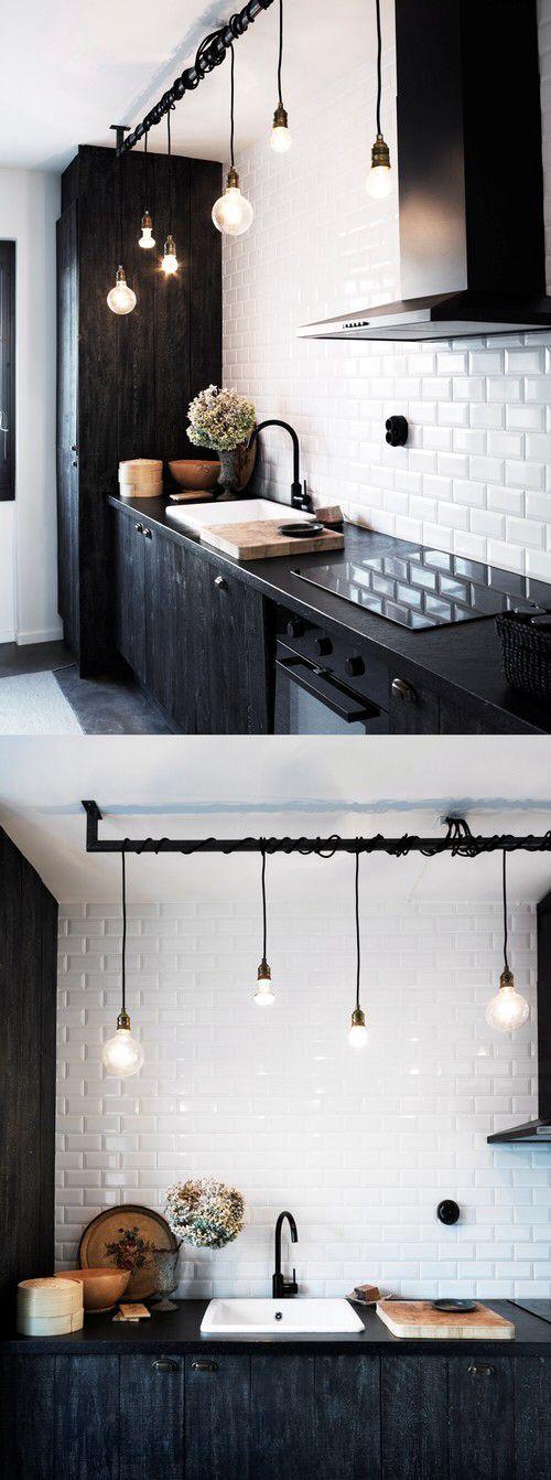 39+ Inspiring Small Space Kitchen Lighting – Mylittlethink.com