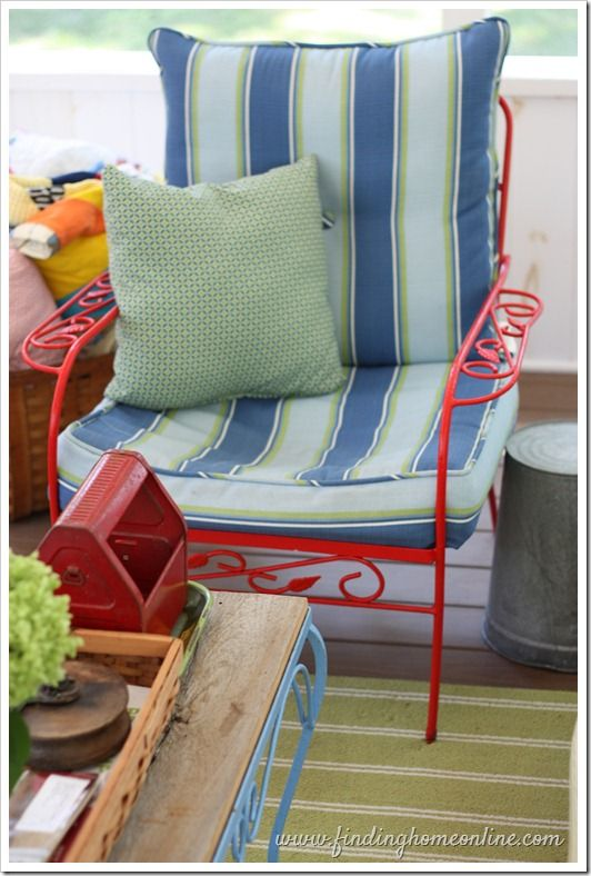 4 Tips for Finding Cushions for Vintage Outdoor Furniture – Finding Home Farms
