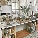 40 Beautiful Farmhouse Living Room Decor Ideas - ZYHOMY