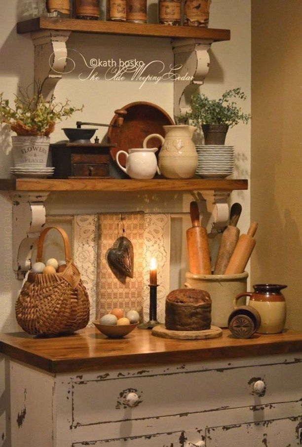 40 Inspiring Rustic Country Kitchen Ideas To Renew Your Ordinary Kitchen – BUILDEHOME