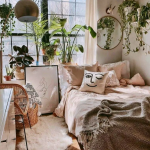 40+ Inspiring Vintage Bohemian Bedroom Decorations
