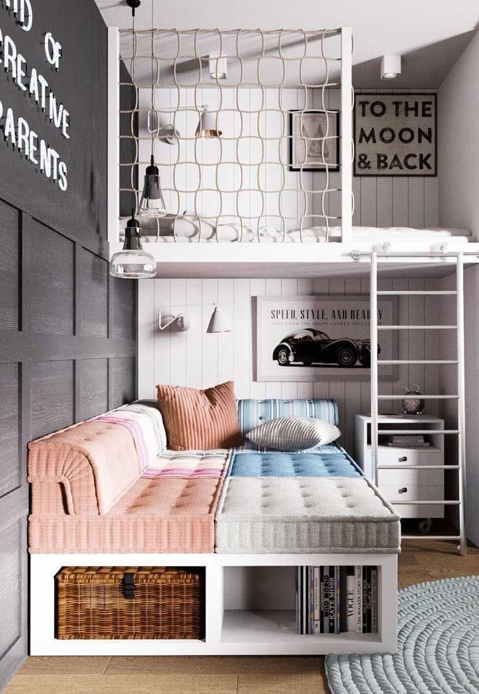 40 Superb Playrooms And Kids Bedrooms Decorating Ideas – DECORRACKS