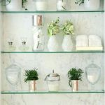 40 The Best Bathroom Glass Shelves Design Ideas - HOOMDESIGN
