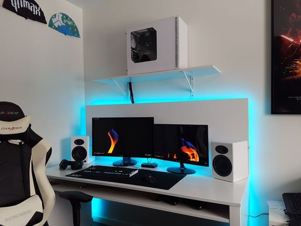 41 Amazing Gaming Desk Ideas
