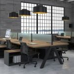 42 Relaxing Modern Office Space Design Ideas - HOMEWOWDECOR