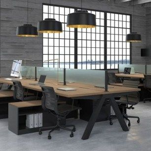 42 Relaxing Modern Office Space Design Ideas – HOMEWOWDECOR