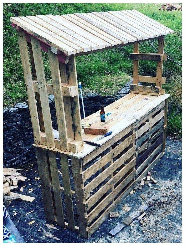 42 diy outdoor bar idea, enjoy your cocktails 14 ~ vidur.net