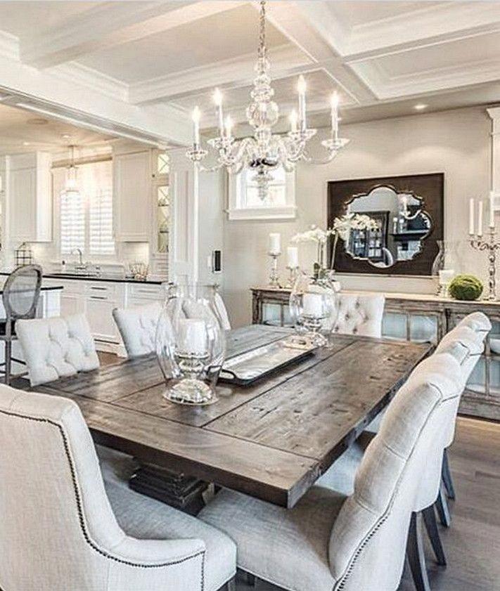 43 Adorable Dining Room Table Decor Ideas
