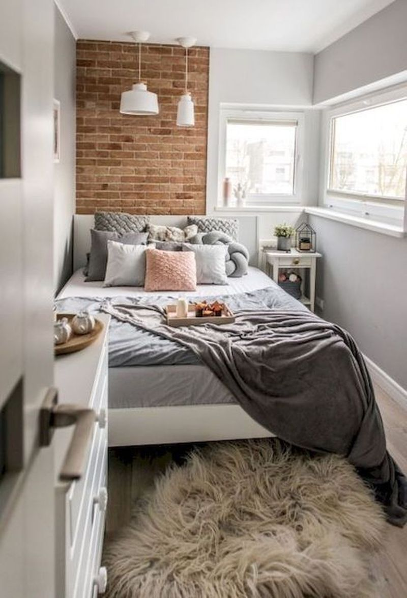 43 Best Tiny Bedroom Design that Will Inspire You