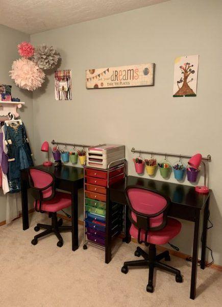 44 Ideas Kids Desk Organization Girls Work Stations For 2019