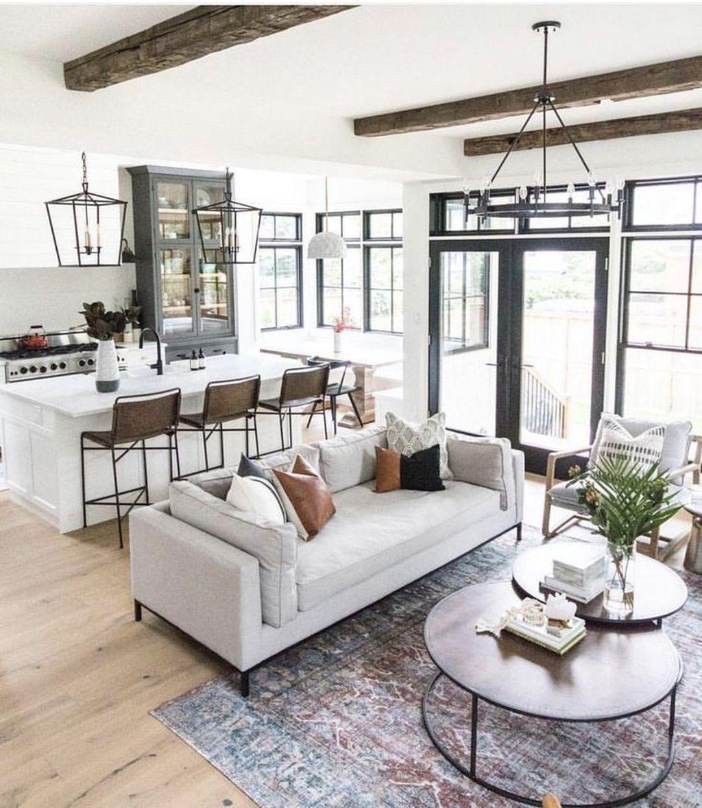 44 Inspiring Modern Open Living Room Design Ideas – Trendehouse