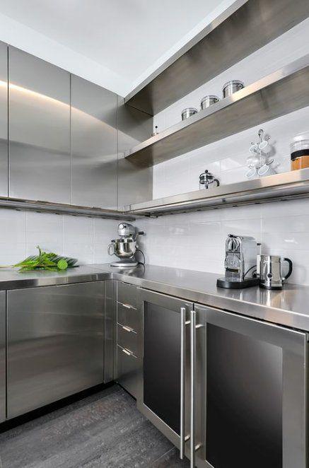 44 trendy kitchen design modern ideas stainless steel