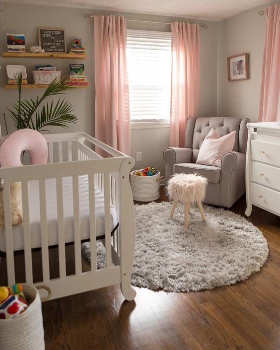 45 Beautiful Baby Girl Nursery Room Ideas – Page 11 of 45 – VimDecor