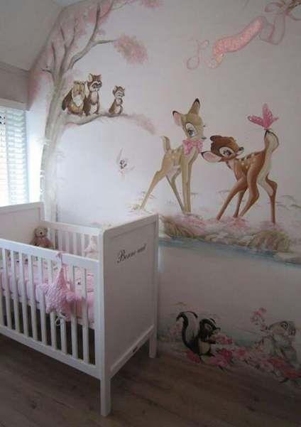 45 Ideas Baby Girl Room Themes Disney Wall Murals