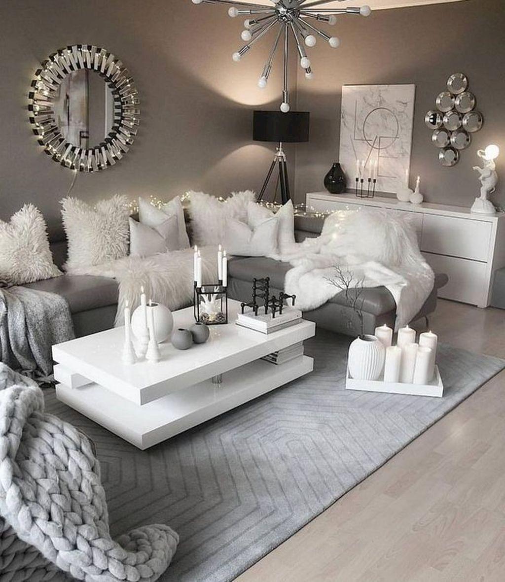 46 Awesome Contemporary Living Room Decor Ideas – ROUNDECOR