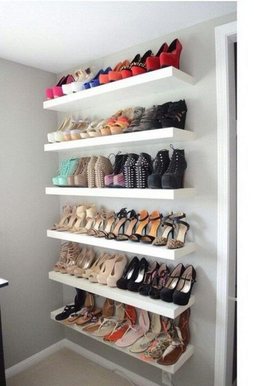 46 Creative Shoe Storage Ideas On A Budget – decoomo.com