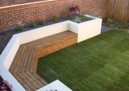 46 Ideas Raised Garden Seating Area