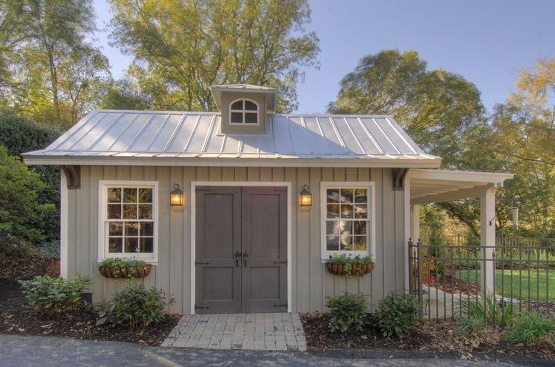 46 Inspiring Backyard Shed Ideas To Maximize Your Garden Space – HOOMDESIGN