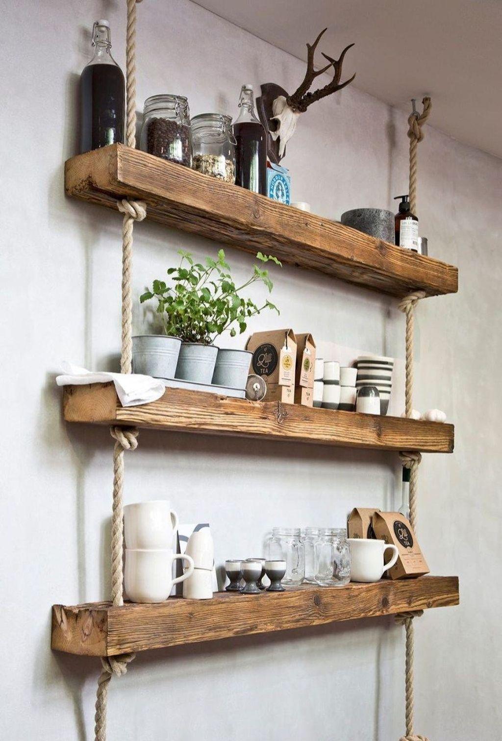 46 Inspiring Rustic Home Decor Living Room Ideas – HOOMDSGN