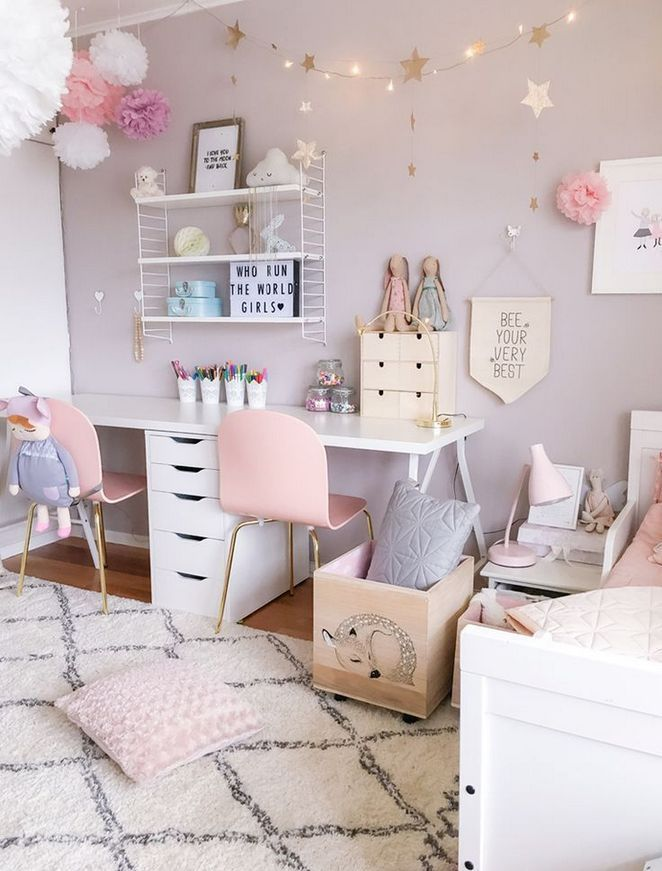 +46 The Most Popular Girls Bedroom Ideas Tween 10 Year Old Diy – targetinspira | Little Girl …