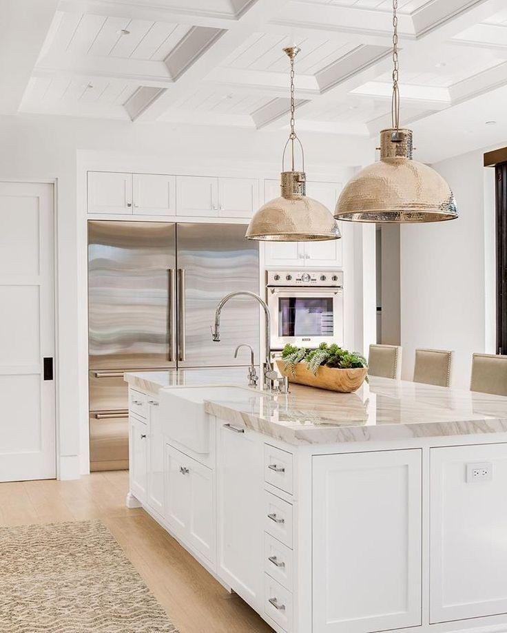 46 wonderful white kitchens to inspire you 33   Autoblog