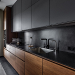 47+ Elegnat Modern Kitchen Design Ideas To Inspire #kitchen #kitchendesign #kitc...
