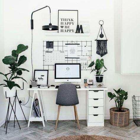 47 Inspiring Home Office Organization Ideas – Page 14 of 47 – VimDecor