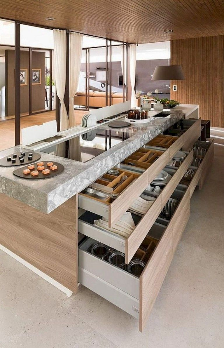47+ Inspiring Kitchen Island Ideas Up Style & Extra Storage – Sooziq.com