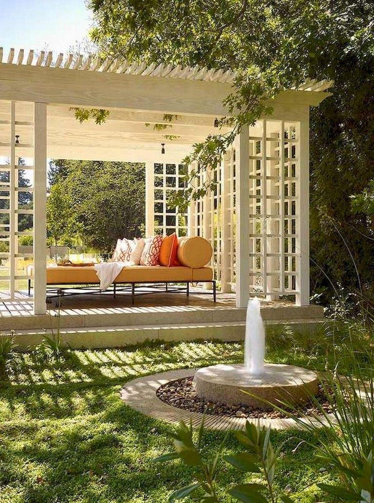 48+ Beautiful DIY Backyard Gazebo Design and Decorating Ideas