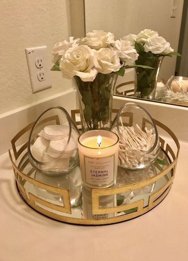 48 Fantastic Bathroom Countertop Ideas Look Elegant – HOOMDSGN