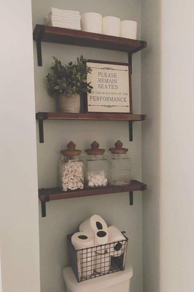 48 Gorgeous Farmhouse Bathroom Decor Ideas Match With Any Home Design – pickndecor.com/design