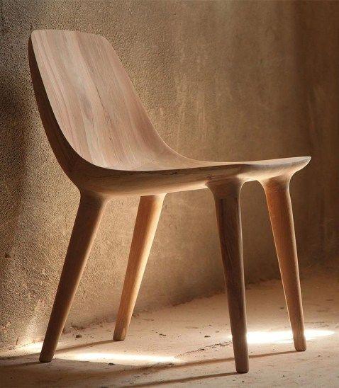 48 Gorgeous Wood Chair Design Ideas – decoomo.com