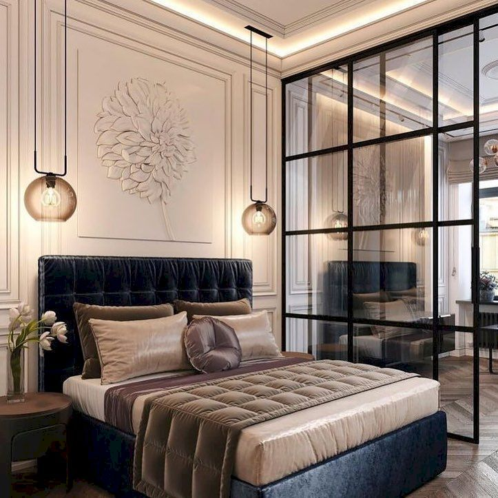 48 Impressive Classic Modern Bedroom Design Ideas
