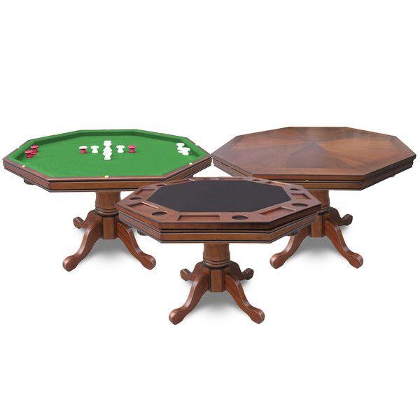 48″ Kingston Poker and Bumper Pool Table