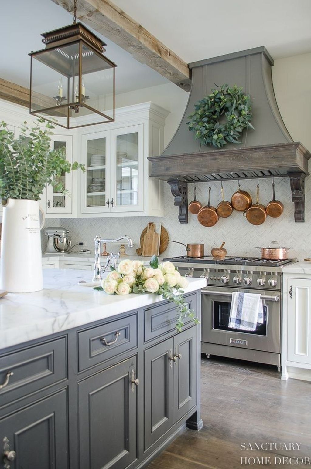 48 The Best French Country Style Kitchen Decor Ideas – pickndecor.com/design