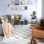 48+ super Ideas for living room grey mustard rugs