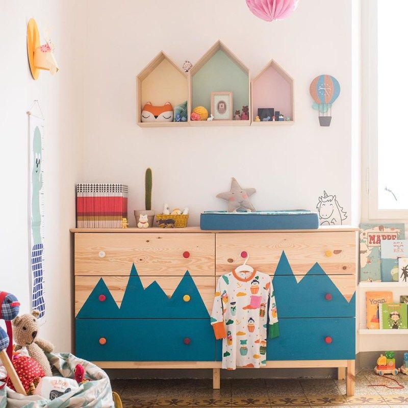 5 Easy DIYs for the IKEA Tarva Dresser