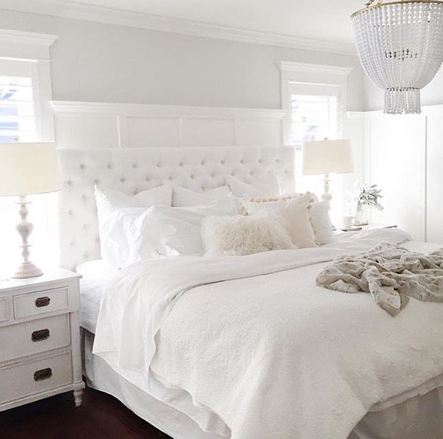 5 Elements To Create A Dreamy White Bedroom — Anns-liee