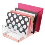 5 Section Makeup Tray Holder Vanity Desk Organizer