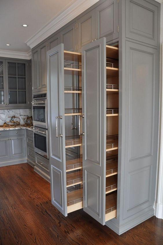 50 Creative Kitchen Pantry Ideas and Designs – worldefashion.com/decor