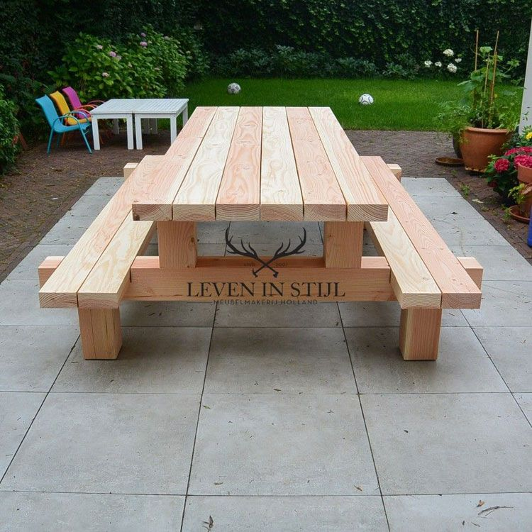 50+ Free Picnic Table Plans In All Shapes and Sizes