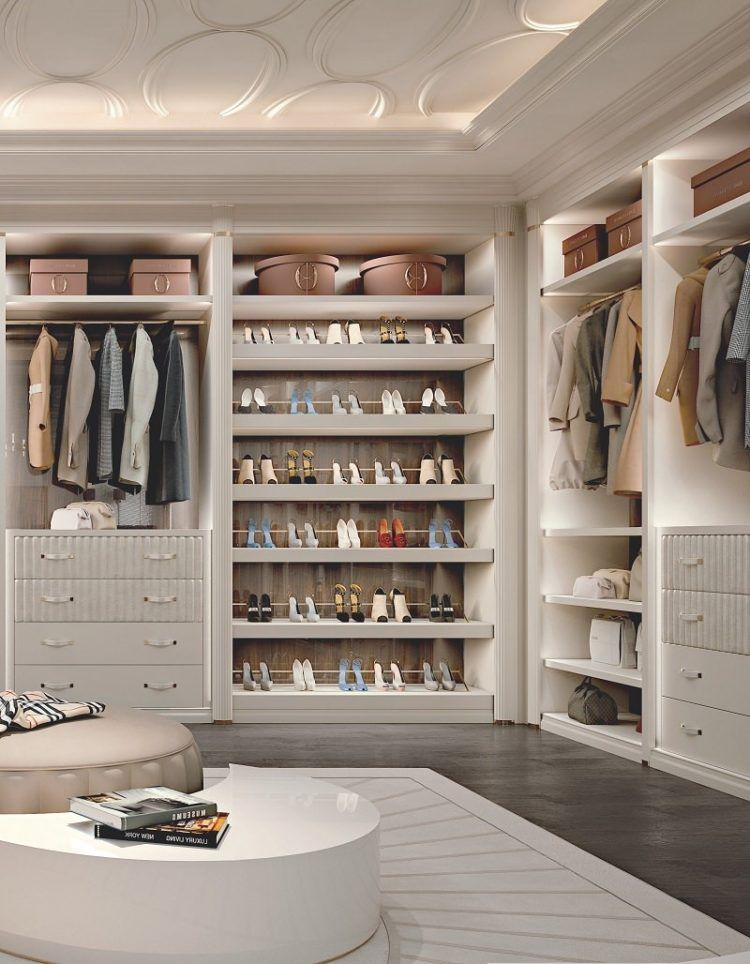 50+ Luxury Walk In Closet Design Ideas and Pictures