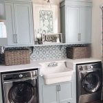 50 Modern Chic Laundry Rooms A Vintage Makeover Ideas - worldefashion.com/decor