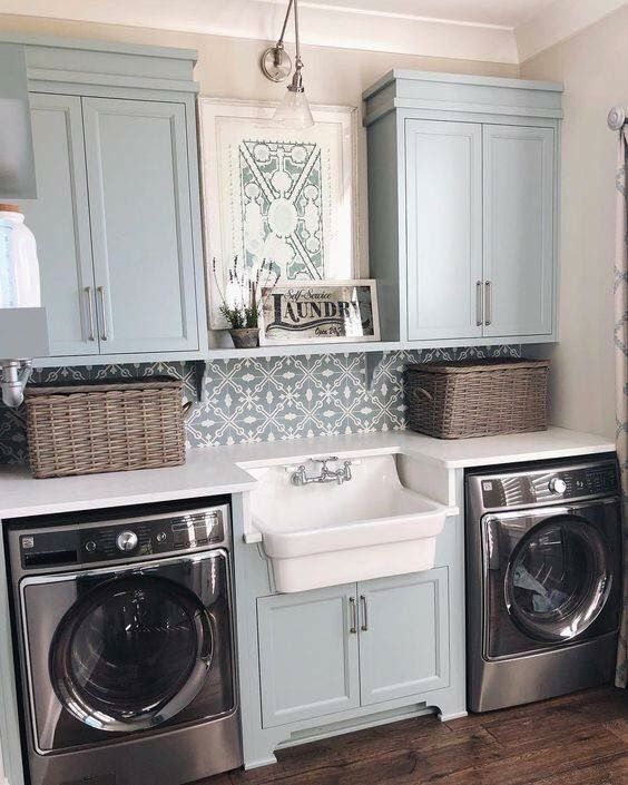 50 Modern Chic Laundry Rooms A Vintage Makeover Ideas – worldefashion.com/decor